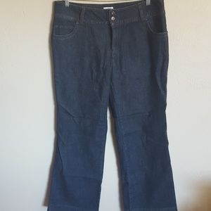 NWT Monroe and Main Lola control jean trousers